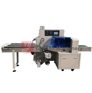 Pillow packing machine YB-600 Automatic bottom film type Horizontal  Fresh Vegetable Packing Machine