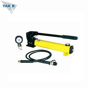 Portable 700 bar high pressure hydraulic hand oil pump P80