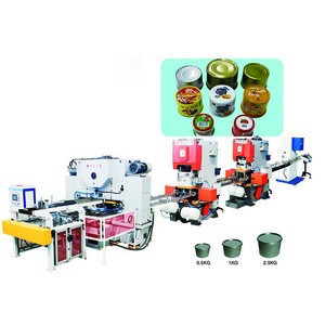 Tomato Sauce/Tuna Fish 2-piece Tin Can Box Making Machine Production Line