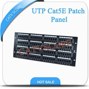 UTP Cat5E patch panel