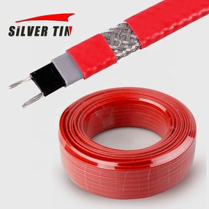 Water Pipe Defrost Self Limiting Temperature  Electrical  Heating cable  220V Heating Belt for Roof Antifreezing