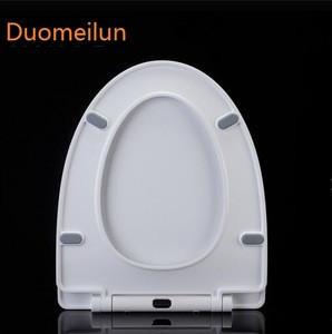 WC UF toilet seat cover hinges ceramic toilet seat