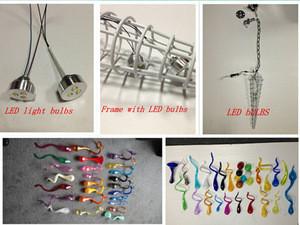 Wholesale Best Quality Blown Murano Glass Chandeliers Fixture Pendant Lights