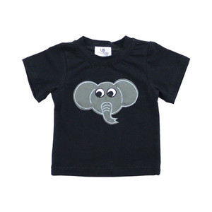 Wholesale Children's Boutique Clothing Kaiyo Top Quality Baby Clothes Cute Animals Printing Boys' Daily T-shirts