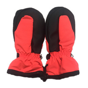 Windproof Waterproof Winter kids Boy girls Snowboard Winter Ski Gloves Mittens