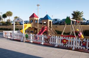 Woodpark AOG-1220 700x800 cm Wooden Playground