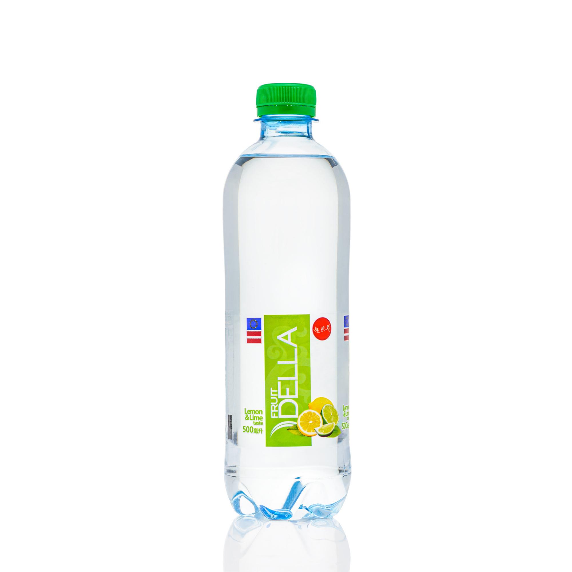 Soft drink DELLA LEMON&LIME 500ML STILL SPARKLING