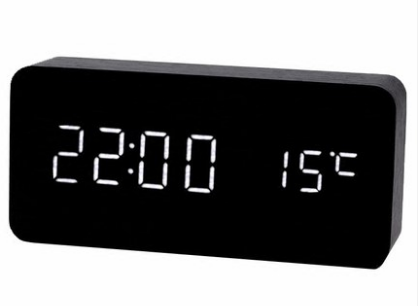 Wooden Digital Clock S-109