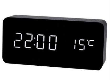 Wooden Digital Clock S-109