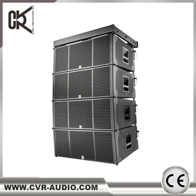 CVR line array dual 12 inch three-way outdoor sound system