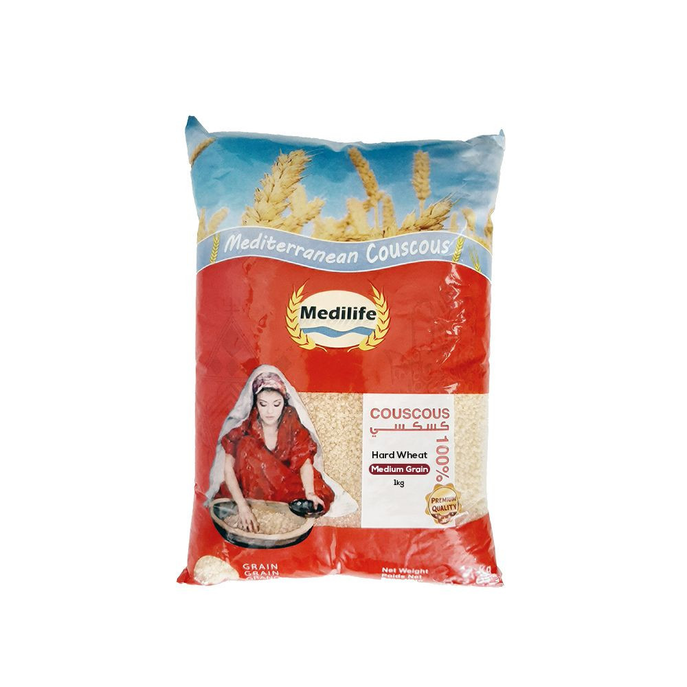 Hard Wheat Couscous in 1kg Bag