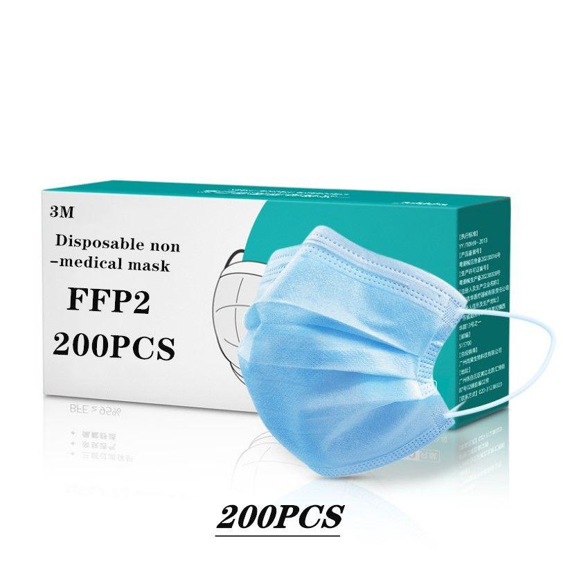 3M brand  FFP2 disposable face mask