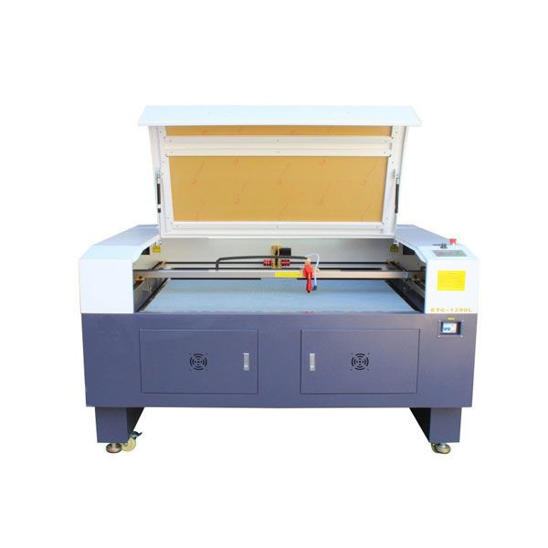 CO2 LASER CUTTER WITH LIFTING PLATFORM