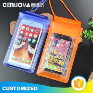 2018 best selling mobile phone accessories pvc waterproof bag