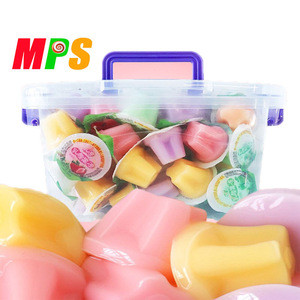 2020 New Product Multi Color Fruit Flavor Jelly for Children