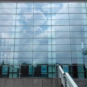 2020 new style aluminium profile glass curtain wall skyscraper