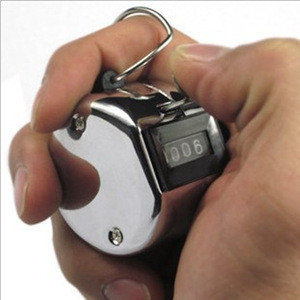 4 Digital number manual hand tally counter