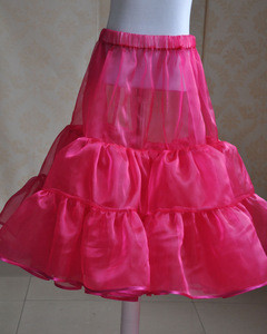 Cheap price petticoat of wedding dress/Wholesale Underskirt for bridal dress