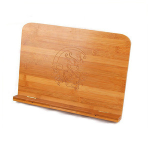 Chinese Adjustable 13 inch Tablet PC Bamboo Tablet Stand