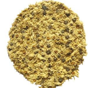 Chinese herbal tea white chrysanthemum cake tea drink tea