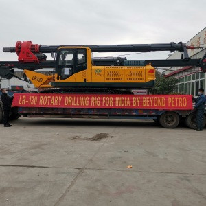 Construction Crawler Hydraulic Hammer Pile Rotary Drilling Rig  21m 30m 40m LR80 Pile Driver