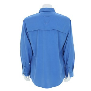 Custom made casual uv fishing shirt outdoor for men