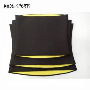 Customized adjustable sauna sweat slimming belt waist trainer shapers