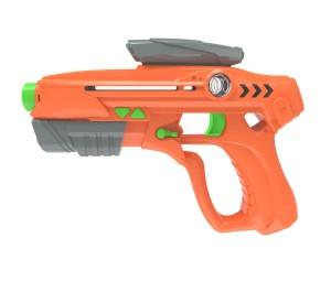 DWI Dowellin battel light sound shock toy laser gun game with target