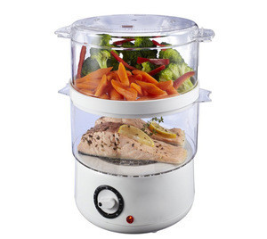 Electric Food Steamer With Timer & Stackable For Vegetable and Food