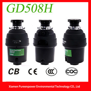 Food Waste Disposal Equipment GD508H for Home Kitchen with CE,CB,CQC Certifications