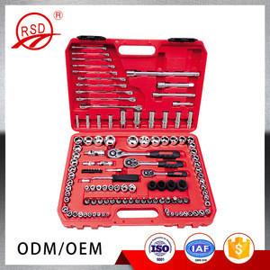 Good quality in stock RSD10994 CR-V steel Germany designed auto car repair tool kits 94pcs socket set