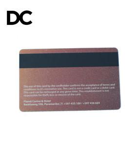 HF 13.56MHz IC F08/S50 Hotel RFID Magnetic Strip Printing Access Control Key Card
