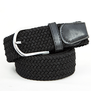 High Quality Elastic Knitted Canvas Belts Decoration Girdle Female Pin Buckle Strap Women And Man Adult Casual Belt
