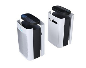 High quality home air purifier with 6 points purification/HEPA filter/Carbon filter/Anion/Photocatalyst/UV tube/ODM,OEM