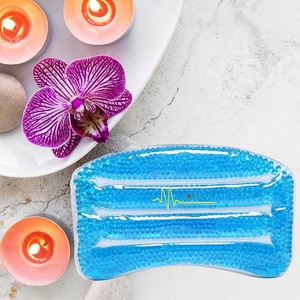 Home Use Spa Life NoSlip Headrest Bathtub Pillow Soft Gel Filled Child Bath Pillow with ear hole