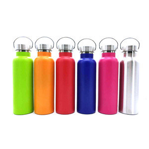 Hot selling different color 500ml insulated stainless thermos bottle,stainless steel cup vacuum flask