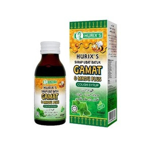 Hurixs Gamat & Honey Herbal Cough Syrup
