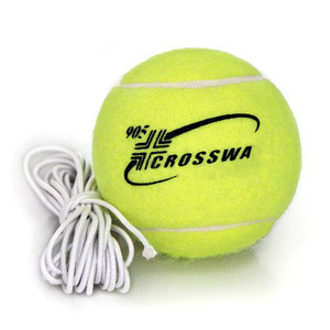 Junior and intermediate resistant to play high ball training exercise with line tennis