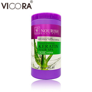 Keratin moisture hair root care natural nourish hair treatment cream