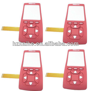 Mobile phone keypad membrane