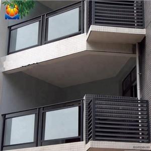 Modern balustrade glass balcony stainless steel railing design
