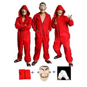 New High Quality La, Casa De Papel Salvador Dali Cosplay Costume Salvador Dali Cosplay Movie Costume/