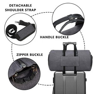 New products convertible custom garment duffel bag with shoulder strap