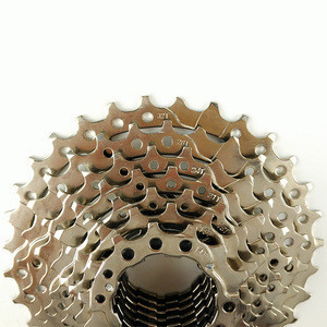 PROMEND BICYCLE CASSETTE FOR MOUNTAIN BIKE 9 SPEED FREEWHEEL SILVER COLOR 27 SPEED SPROCKET