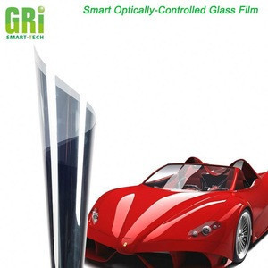 Safety glass film for car windows