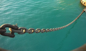 Ship Anchor Chain For Sale Heavy Iron Chains