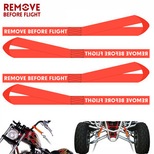 Soft Loops Motorcycle Tie Down Strap Heavy Duty Tie Downs For Securing ATV, UTV, Motorcycles, Scooters, Dirt Bikes Lawn & Garden