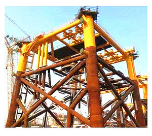 Structural steel construction welding fabrication heavy steel structure fabrication