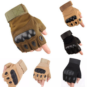 Tactical  Combat Airsoft Shooting Military Bicycle Fingerless Paintball Half Finger  Gloves