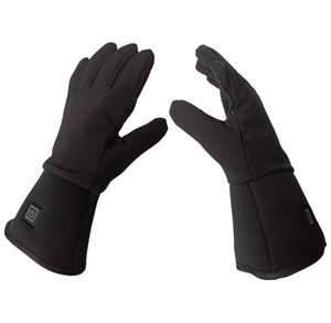 Top Quality Waterproof Ski Rechargeable Battery Heated Winter Gloves with Touch Screen for Woman and man